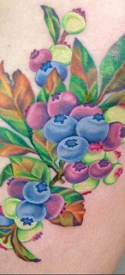 фото тату черника от 21.08.2017 №126 – Blueberry tattoo – tatufoto.com