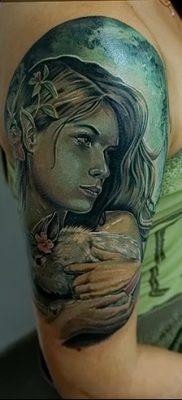 фото тату эльф от 28.08.2017 №009 – tattoo elf – tatufoto.com