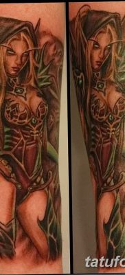 фото тату эльф от 28.08.2017 №018 – tattoo elf – tatufoto.com
