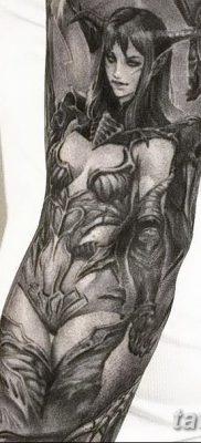 фото тату эльф от 28.08.2017 №023 – tattoo elf – tatufoto.com