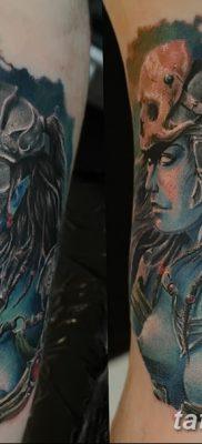 фото тату эльф от 28.08.2017 №025 – tattoo elf – tatufoto.com