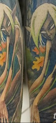 фото тату эльф от 28.08.2017 №035 – tattoo elf – tatufoto.com