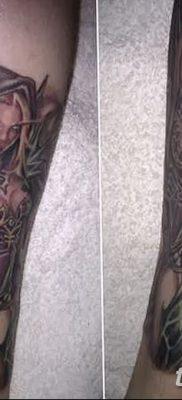 фото тату эльф от 28.08.2017 №038 – tattoo elf – tatufoto.com