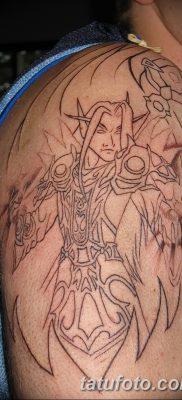 фото тату эльф от 28.08.2017 №043 – tattoo elf – tatufoto.com