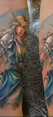 фото тату эльф от 28.08.2017 №047 – tattoo elf – tatufoto.com