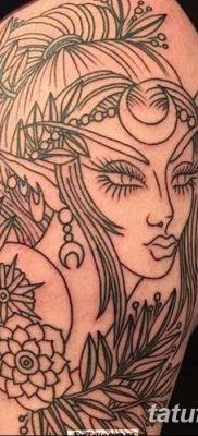 фото тату эльф от 28.08.2017 №048 – tattoo elf – tatufoto.com