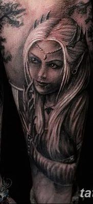 фото тату эльф от 28.08.2017 №051 – tattoo elf – tatufoto.com