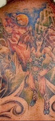 фото тату эльф от 28.08.2017 №052 – tattoo elf – tatufoto.com