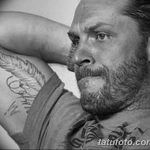 фото Тату Тома Харди от 07.08.2017 №008 - Tom Hardy's Tattoo_tatufoto.com