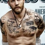 фото Тату Тома Харди от 07.08.2017 №041 - Tom Hardy's Tattoo_tatufoto.com