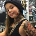 Арест в США за татуировку нанесенную на тело несовершеннолетней дочери - фото