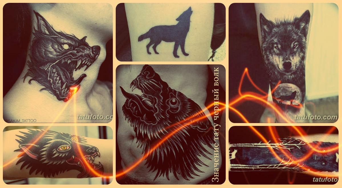 Значение тату черный волк - коллекция фотографий рисунков татуировки