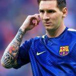 фото Тату Лионеля Месси от 25.09.2017 №002 - Tattoo of Lionel Messi - tatufoto.com