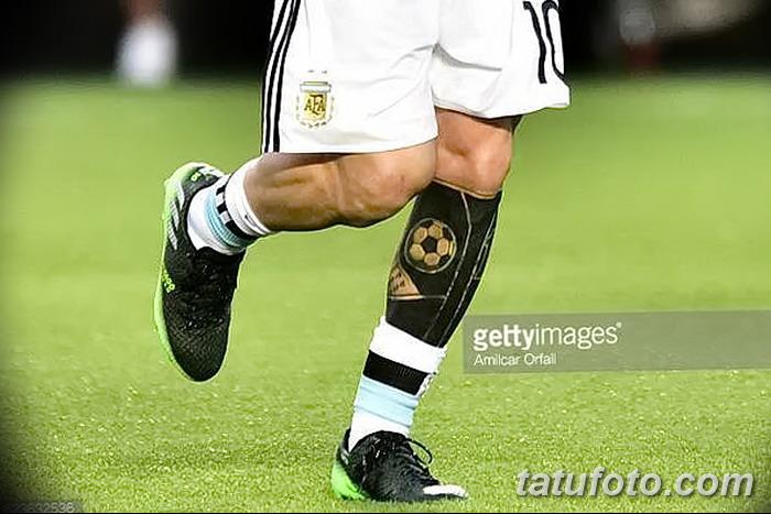 фото Тату Лионеля Месси от 25.09.2017 №008 - Tattoo of Lionel Messi - tatufoto.com