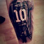 фото Тату Лионеля Месси от 25.09.2017 №010 - Tattoo of Lionel Messi - tatufoto.com