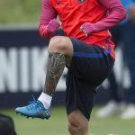 фото Тату Лионеля Месси от 25.09.2017 №012 - Tattoo of Lionel Messi - tatufoto.com