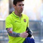 фото Тату Лионеля Месси от 25.09.2017 №017 - Tattoo of Lionel Messi - tatufoto.com