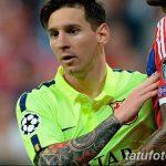 фото Тату Лионеля Месси от 25.09.2017 №025 - Tattoo of Lionel Messi - tatufoto.com