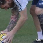 фото Тату Лионеля Месси от 25.09.2017 №028 - Tattoo of Lionel Messi - tatufoto.com