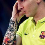 фото Тату Лионеля Месси от 25.09.2017 №036 - Tattoo of Lionel Messi - tatufoto.com