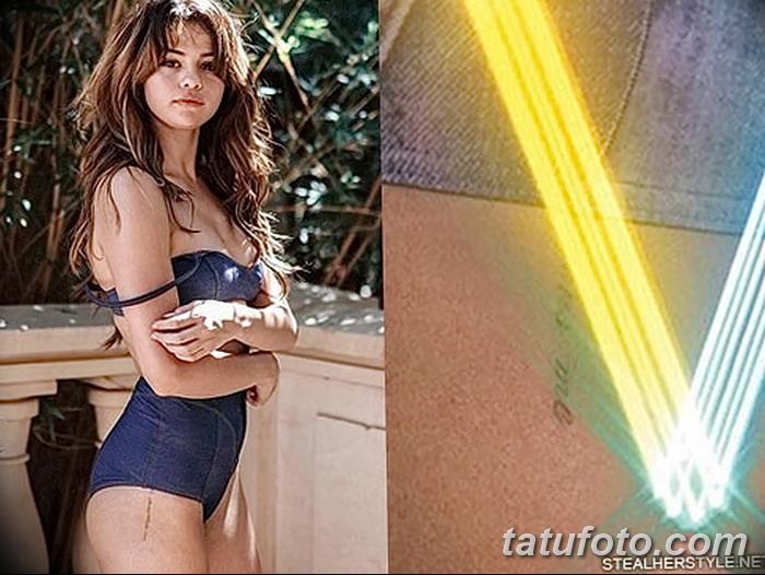 фото Тату Селены Гомес от 25.09.2017 №020 - Tattoo of Selena Gomez - tatufoto.com