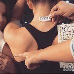 фото Тату Селены Гомес от 25.09.2017 №027 - Tattoo of Selena Gomez - tatufoto.com