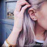 фото Трагус-пирсинг от 19.09.2017 №067 - Tragus Piercing - tatufoto.com