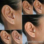 фото Трагус-пирсинг от 19.09.2017 №087 - Tragus Piercing - tatufoto.com