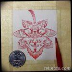 фото Эскизы тату клен от 29.09.2017 №004 - Sketches of tattoo maple - tatufoto.com