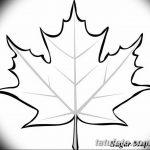 фото Эскизы тату клен от 29.09.2017 №045 - Sketches of tattoo maple - tatufoto.com