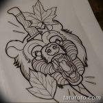 фото Эскизы тату клен от 29.09.2017 №054 - Sketches of tattoo maple - tatufoto.com