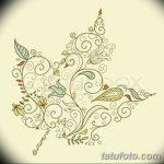 фото Эскизы тату клен от 29.09.2017 №064 - Sketches of tattoo maple - tatufoto.com