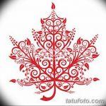 фото Эскизы тату клен от 29.09.2017 №068 - Sketches of tattoo maple - tatufoto.com