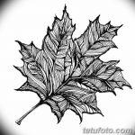 фото Эскизы тату клен от 29.09.2017 №078 - Sketches of tattoo maple - tatufoto.com