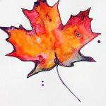 фото Эскизы тату клен от 29.09.2017 №082 - Sketches of tattoo maple - tatufoto.com