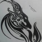 фото Эскизы тату козерог от 29.09.2017 №004 - Sketchesf a capricorn tattoo - tatufoto.com 235612