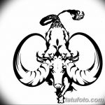 фото Эскизы тату козерог от 29.09.2017 №010 - Sketchesf a capricorn tattoo - tatufoto.com