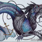 фото Эскизы тату козерог от 29.09.2017 №020 - Sketchesf a capricorn tattoo - tatufoto.com
