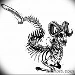 фото Эскизы тату козерог от 29.09.2017 №024 - Sketchesf a capricorn tattoo - tatufoto.com
