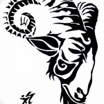 фото Эскизы тату козерог от 29.09.2017 №036 - Sketchesf a capricorn tattoo - tatufoto.com