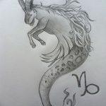 фото Эскизы тату козерог от 29.09.2017 №045 - Sketchesf a capricorn tattoo - tatufoto.com