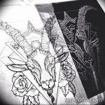 фото Эскизы тату козерог от 29.09.2017 №060 - Sketchesf a capricorn tattoo - tatufoto.com