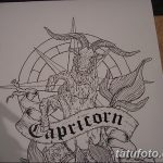 фото Эскизы тату козерог от 29.09.2017 №063 - Sketchesf a capricorn tattoo - tatufoto.com