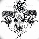 фото Эскизы тату козерог от 29.09.2017 №074 - Sketchesf a capricorn tattoo - tatufoto.com