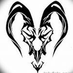 фото Эскизы тату козерог от 29.09.2017 №081 - Sketchesf a capricorn tattoo - tatufoto.com