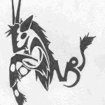 фото Эскизы тату козерог от 29.09.2017 №083 - Sketchesf a capricorn tattoo - tatufoto.com