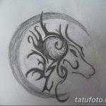 фото Эскизы тату козерог от 29.09.2017 №089 - Sketchesf a capricorn tattoo - tatufoto.com