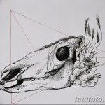 фото Эскизы тату конь от 29.09.2017 №034 - Sketches of a horse tattoo - tatufoto.com