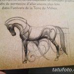 фото Эскизы тату конь от 29.09.2017 №036 - Sketches of a horse tattoo - tatufoto.com