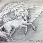 фото Эскизы тату конь от 29.09.2017 №050 - Sketches of a horse tattoo - tatufoto.com